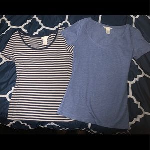 TWO H&M T-Shirts unused